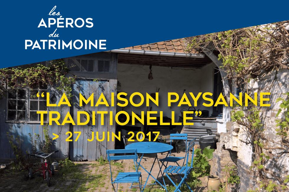 """Featured image for """"Apéro#4 : La maison paysanne traditionnelle"""""""
